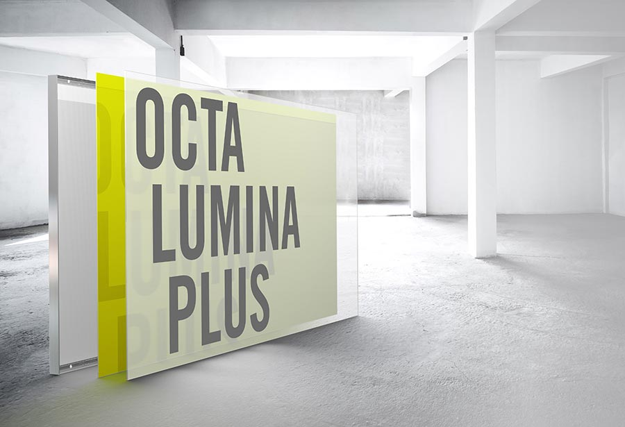Illuminated Room Concepts With Octalumina Plus Octanorm Germany